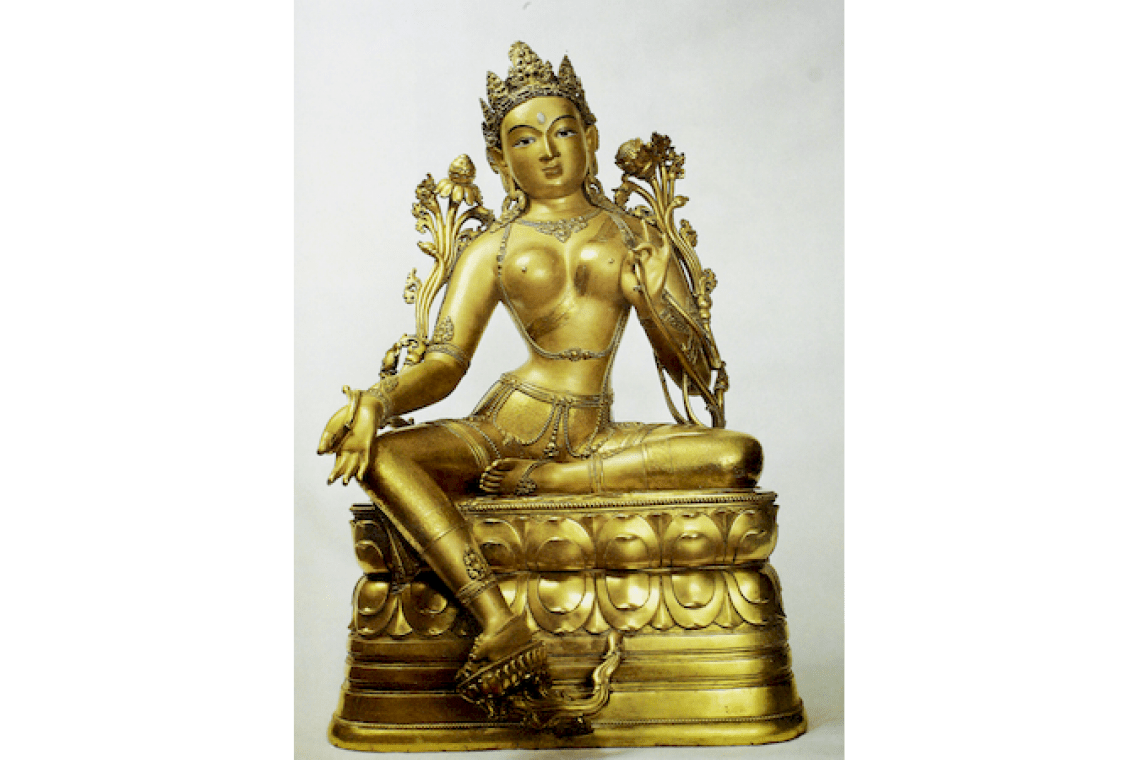 "Lecture ""The Image of Tara in Buddhist art: on thangkas and in small plastic arts"" May 16, 2020, 15.00"