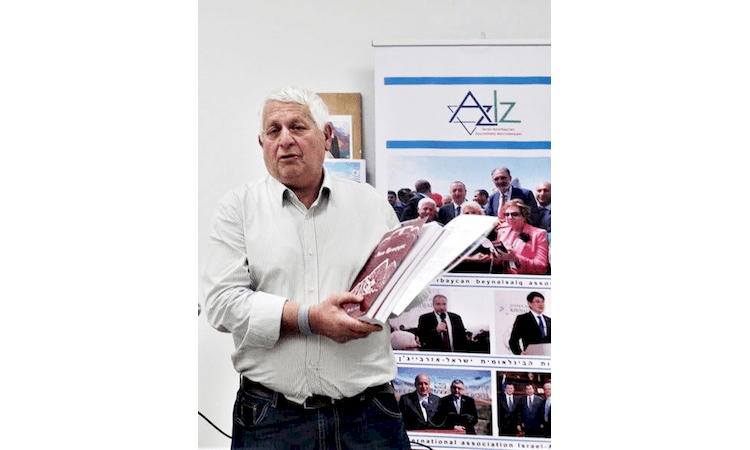 Our Congratulations to Alexander Agranovsky and the Jerusalem branch of the Israel-Azerbaijan Association