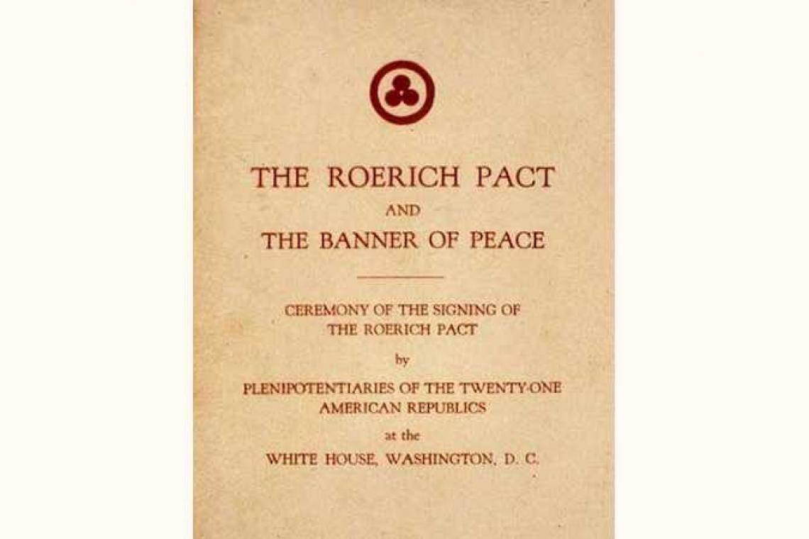 "OPENING OF THE EXHIBITION ""THE ROERICH PACT - A CALL FOR PROTECTION OF THE CULTURE"" // March 10, 2020, 16.00"